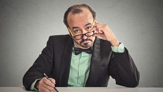 businessman - marketing intelligence